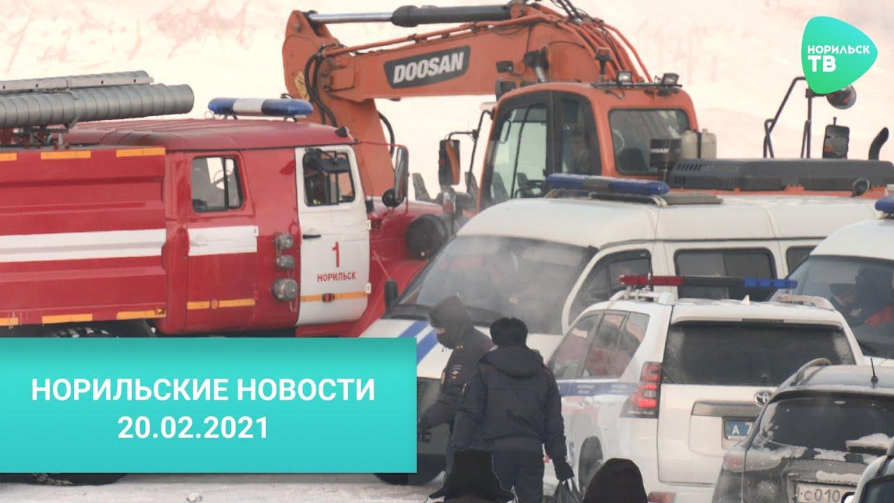 Норильские Новости 20.02.2021